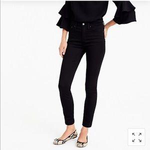 "Black 9"" high-rise skinny jean"